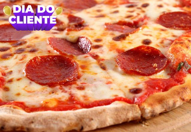 1 Pizza Grande por apenas R$29,90