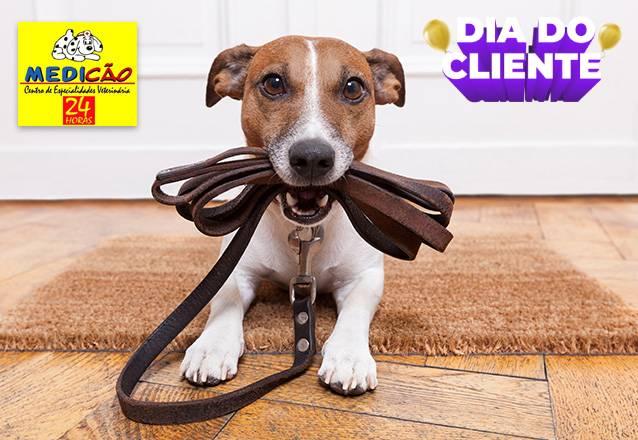 1 Banho + 1 Hidratação + 1 Corte de unha + 1 Limpeza de ouvido para Pets de até 10kg de R$46,90 por apenas R$29,99